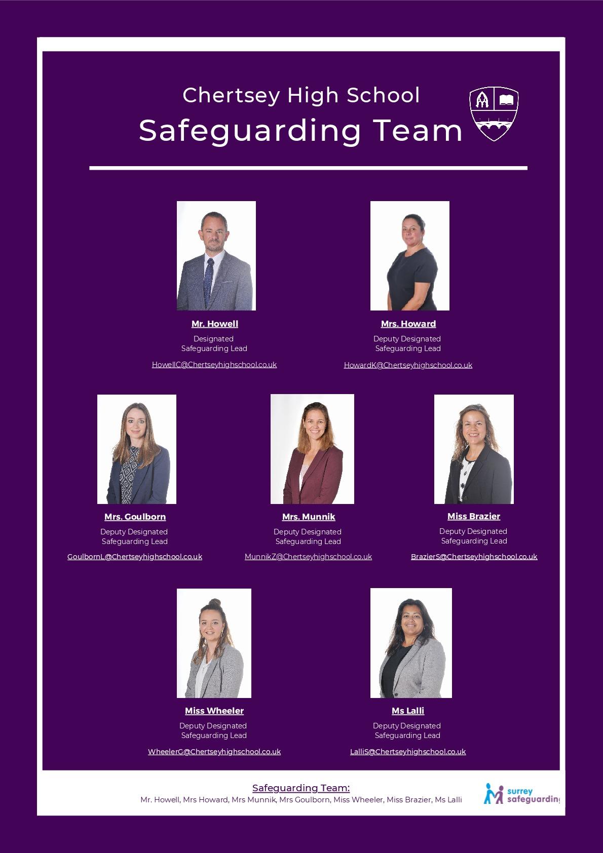Deputy Designated Safeguarding Lead